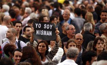 Manifestantes se reúnen en Plaza de Mayo por Nisman   La muerte de nisman