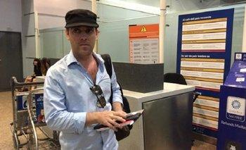 Pachter tiene boleto de regreso para el 2 de febrero | Aerolíneas argentinas