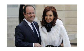 Hollande le agradeció a Cristina el apoyo | Charlie hebdo