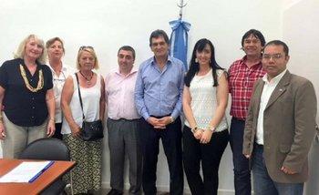 El secretario de Derechos Humanos recibió a un grupo defensor de represores   Derechos humanos