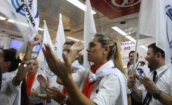 Quiebra de Sol: en medio de protestas, reunión clave entre gremios y ministerio de Trabajo | Aerolíneas argentinas
