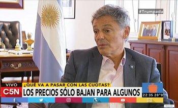 El mano a mano con Cabrera sobre el futuro del consumo en Argentina | Ahora12