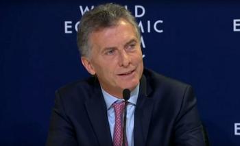 Foro de Davos: el chiste de Mauricio Macri sobre el Presidente de México | Mauricio macri
