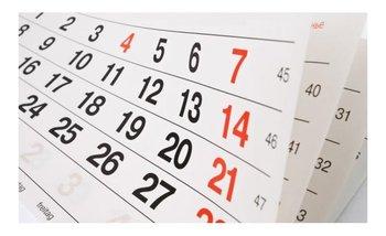 ¿El lunes es feriado? | Feriado