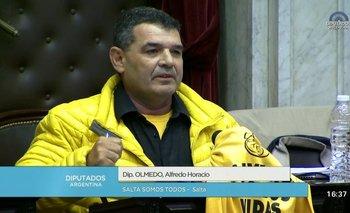 La insólita historia de la campera amarilla de Olmedo | Alfredo olmedo