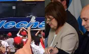 Los avances de la causa por los piedrazos al micro de Boca que dejan en offside a Bullrich y Ocampo | Patricia bullrich