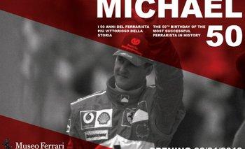 El impresionante homenaje de Ferrari a Schumacher por sus 50 años | Michael schumacher