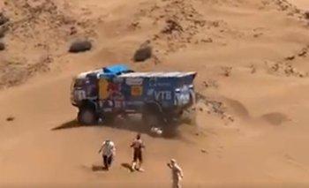 Un camión pisó a un espectador en el Rally Dakar | Rally dakar