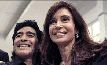 El video de Cristina Kirchner para homenajear a Diego Maradona | Murió diego maradona