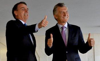 """Macri destacó a Bolsonaro por su """"respeto"""" a los derechos humanos y un archivo lo dejó en offside   Brasil"""