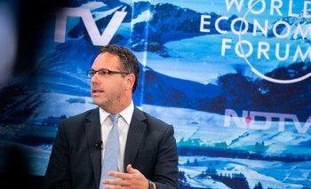 "Foro de Davos: Guido Sandleris admitió que reducir la inflación ""no será tarea de un solo año"" | Foro de davos"