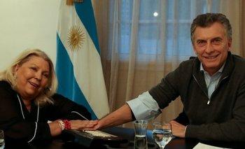 Interna en Cambiemos: Mauricio Macri recibió a Elisa Carrió, acompañada de un importante ex funcionario   Elisa carrió