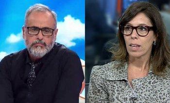 La picante ironía de Jorge Rial a Laura Alonso por Cristina Kirchner | Extinción de dominio