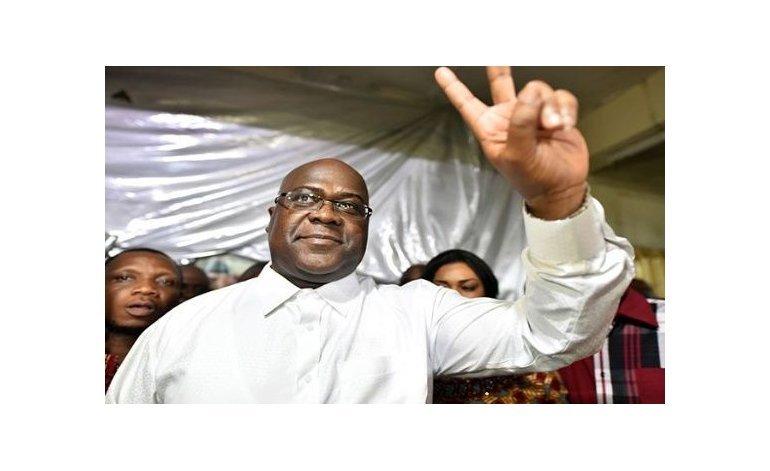 Félix Tshisekedi es electo presidente tras 17 años de Joseph Kabila al frente del país. Su principal opositor denuncia fraude.