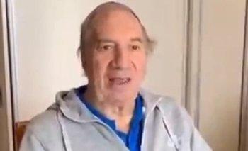 Reapareció Carlos Bilardo con un video tras sus problemas de salud | Carlos bilardo