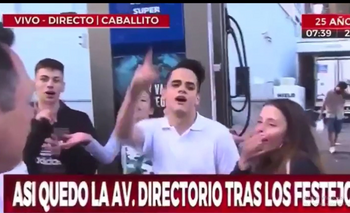 El mal momento que vivió un notero de Crónica por un comentario | Crónica tv