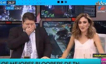 Errores y accidentes en vivo: todos los bloopers de TN en 2019 | Clarín