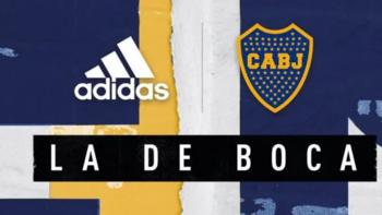 Se filtró una foto completa de la nueva camiseta de Boca | Boca juniors