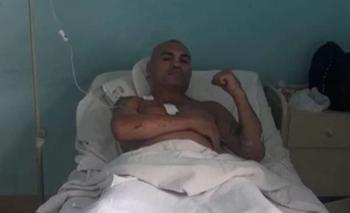 Insólito mensaje de la 'Hiena' Barrios tras ser apuñalado | Hiena barrios