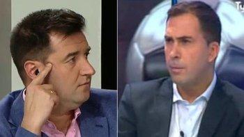 Arévalo difamó a Riquelme y Balassone explotó al aire | Radio la red