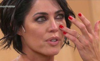 El llanto desconsolado de Pamela David en cámara