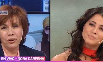 El terrible accidente que sufrió Nora Cárpena en un cementerio   Televisión
