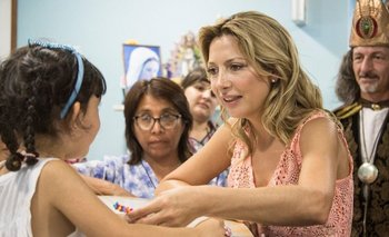 Fabiola Yañez participó de una jornada solidaria en hospital | Fabiola yáñez