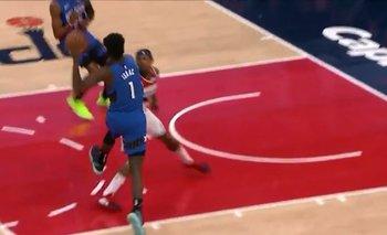 La NBA ya tiene su primera lesión impactante de 2020 | Impactante video