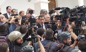 Guaidó ingresó a la Asamblea y presidió la sesión | Venezuela