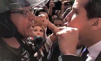 Gritos, violencia y arengas: el show que montó Juan Guaidó | Venezuela