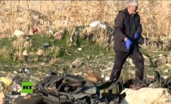 Accidente aéreo en Irán: casi 180 muertos  | Accidente aéreo