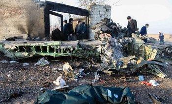 Video: así cayó el avión ucraniano en Irán   Medio oriente