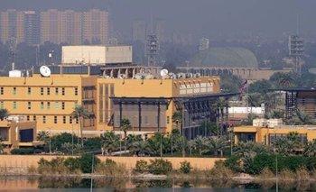 Dos misiles caen en la embajada de Estados Unidos en Irak | Conflicto eeuu-irán