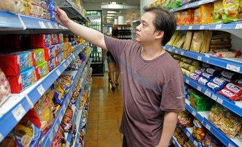 Síntoma de crisis: cae fuerte la venta de alimentos y bebidas | La situación social