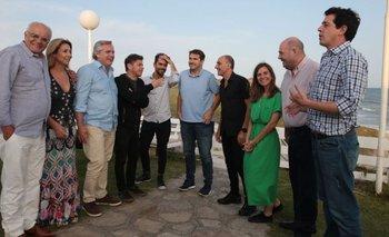 Alberto se reunió con productores teatrales en Mar del Plata | Alberto fernández