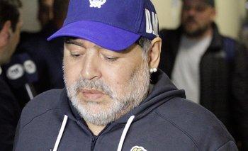 El problema de salud que padece Diego Maradona | Gimnasia y esgrima la plata