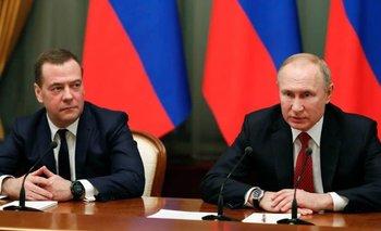Renunció el primer ministro ruso y todo su gabinete | Vladimir putin