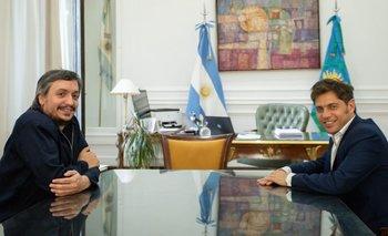 Reunión cumbre entre Máximo y Kicillof en La Plata | Provincia de buenos aires