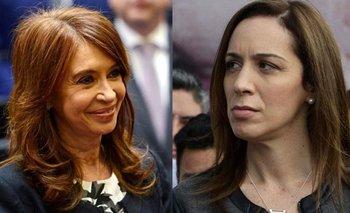 El mal momento de Vidal en una obra de teatro por Cristina  | María eugenia vidal