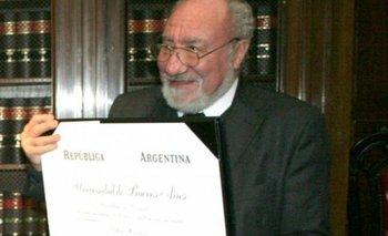 Murió el vicepresidente de la Suprema Corte bonaerense | Héctor negri