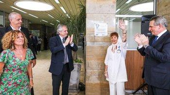 Alberto restituyó la placa en recuerdo del hijo de Taty   Derechos humanos