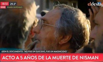 "Luis Brandoni le gritó ""asesina"" a Cristina  | Alberto nisman"