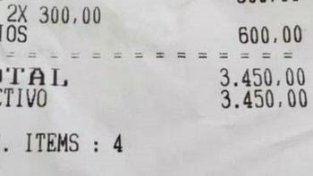 Polémica respuesta por un picada de más de $3000 en un bar   Inflación