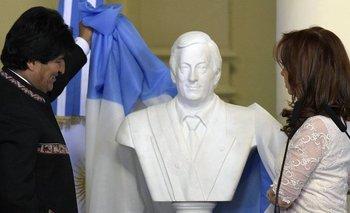 Se viene el primer busto de Néstor Kirchner en la Ciudad | Dónde y cuándo