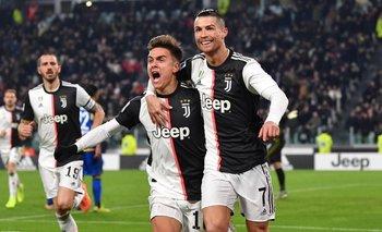 El beso entre Ronaldo y Dybala que se volvió viral | Video