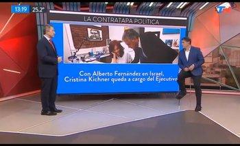 """Así reaccionó TN con """"Cristina Presidenta""""   Cómo lo anunciaron"""