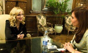 Furor por hilo de Twitter que compara a CFK con Madonna | En twitter