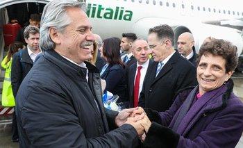 Alberto llegó a Israel en su primer viaje como Presidente | Alberto presidente