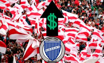 Los exorbitantes precios del partido Godoy Cruz- River | Precios exorbitantes