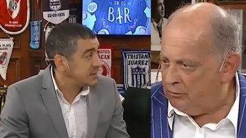Chiche enfureció e invitó a Queijeiro a pelear | Televisión